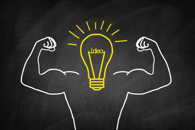 light-bulb-drawn-yellow-with-muscular-arms_1205-339