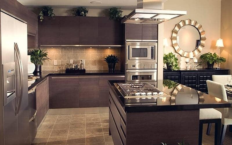 آشپزخانه هوشمند مدرن